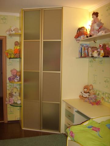 Детские шкафы угловые фото