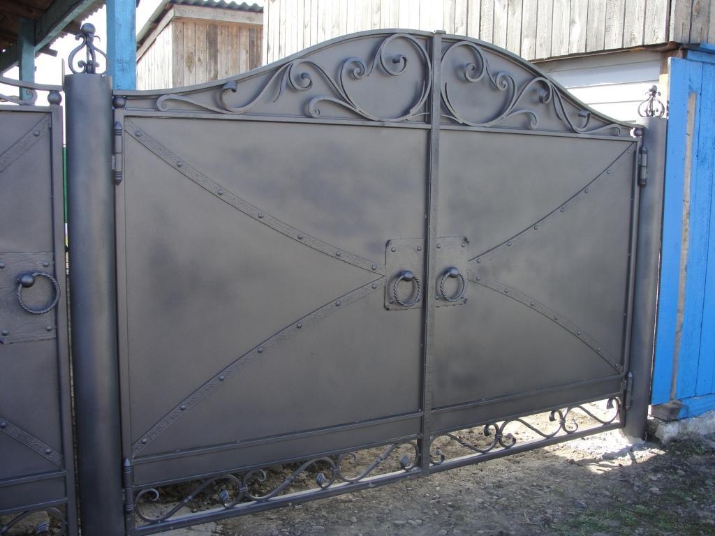 Металические ворота херсон ворота откатные купить киев