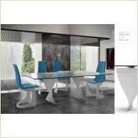 Idealsedia - стол Charlotte Fix + стулья Stella Sedia