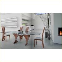 Idealsedia - стол Charlotte Tavolo + стулья Issa Sedia