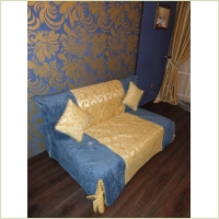 Текстиль - Чеход на диван от Виктории Шалимовой