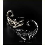 CERAMICHE TREA - 2 скорпиона -  керамика Италия