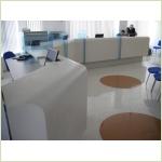 Мебель для приемных (reception, стойки администратора) - Стойка административная из камня GRANICOAT