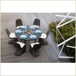 Atmosphere GLAMOUR IRENE - стол и стулья для бассейна/сада