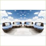 Roberti Greenfeild Les Iles - диван для сада