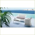 Roberti Greenfeild Pappaya - диван и столик для сада