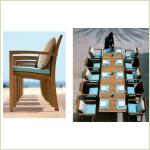 Royal Botania - SOLID - стол+стулья
