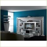 VISMARA DESIGN black&white - белая стенка для гостиной